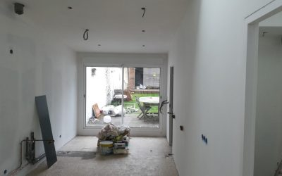 Rénovation d'une extension de maison amiénoise